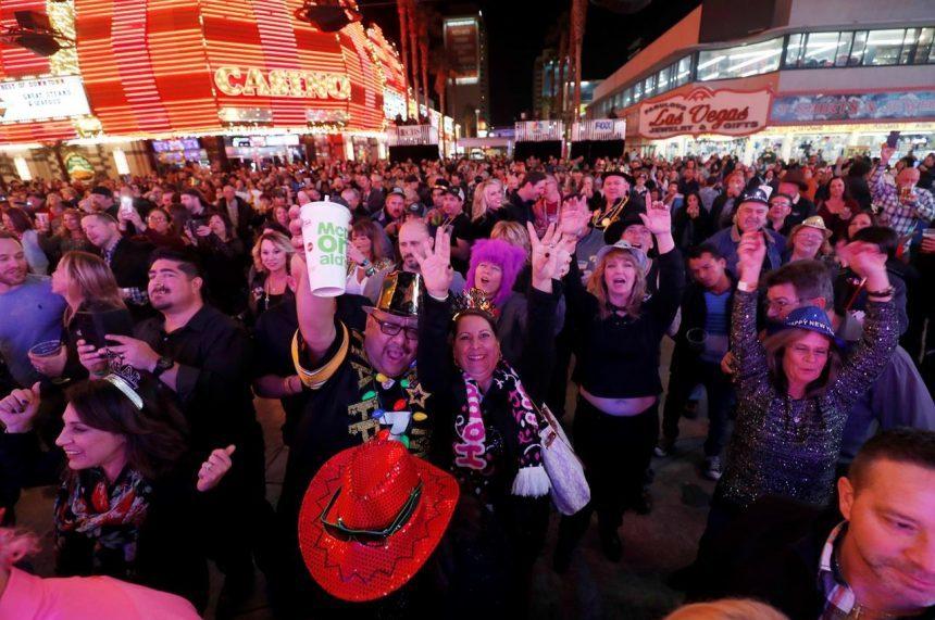 Las Vegas rings in 2018 under unprecedented security