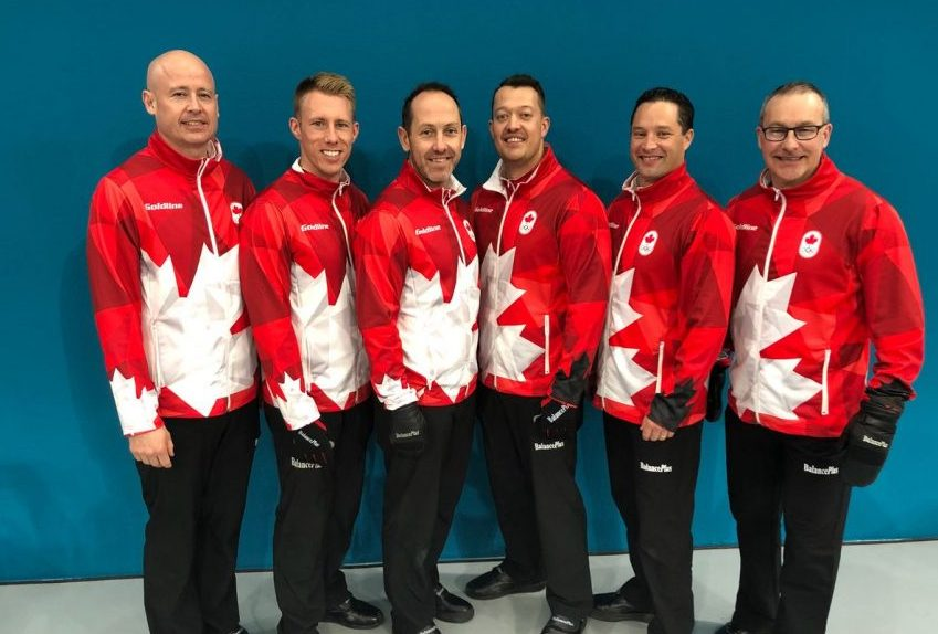 Hebert embraces Canada's role as curling 'favourites'