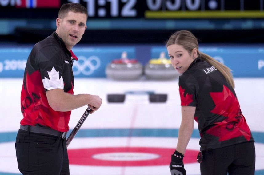 Canadian Olympic Roundup: Morris and Lawes open with mixed results in doubles curling