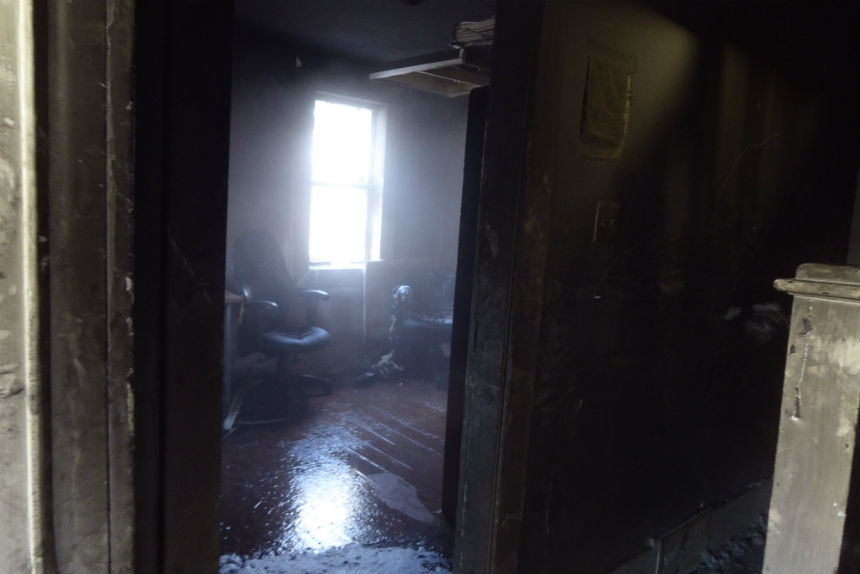 Firefighters douse Family Day house fire in downtown Regina
