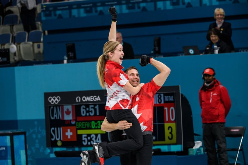 Canada defeats Switzerland to win mixed doubles gold medal