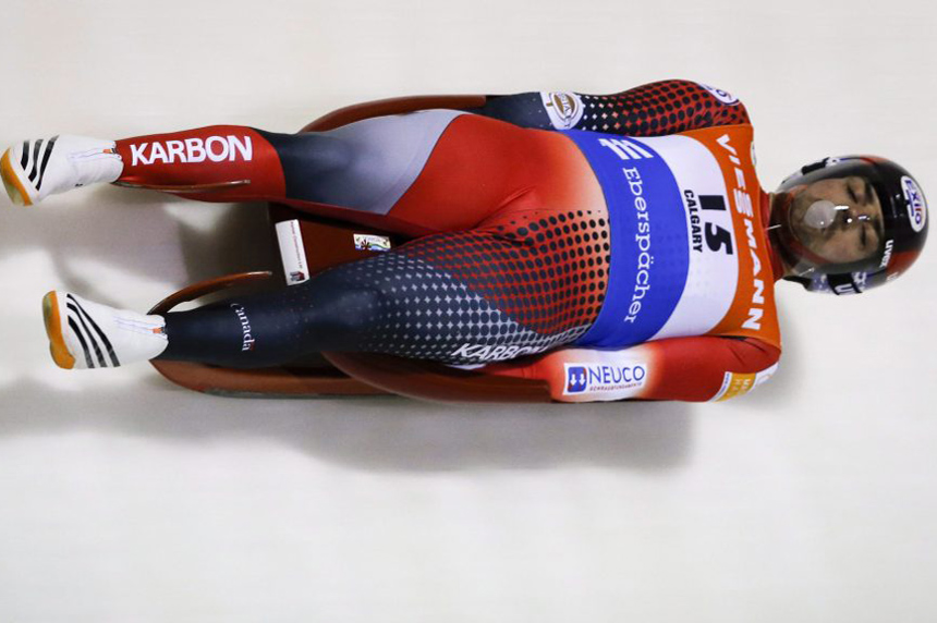Canada wins silver in luge relay