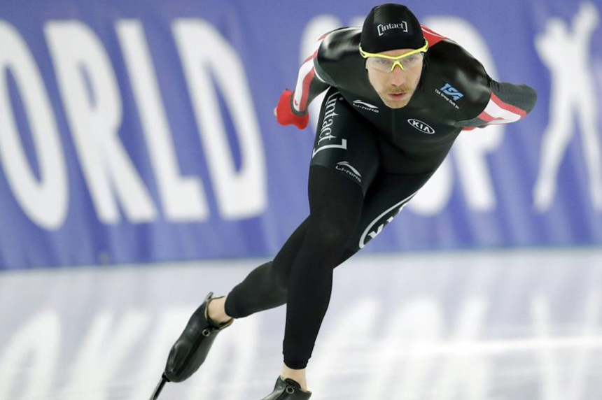 Canadian speedskater Bloemen wins gold in men's 10,000 metres