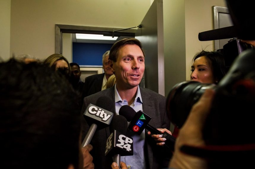 'I'm running for the leadership': Patrick Brown on fighting to reclaim his job