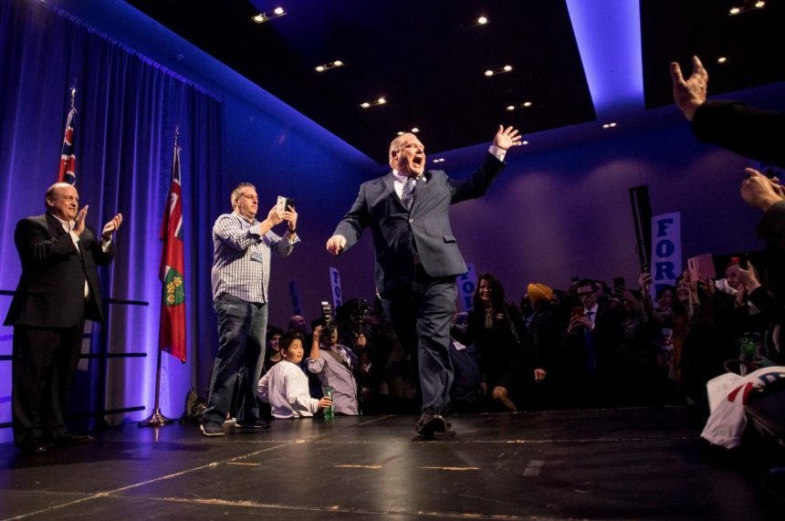Doug Ford launches campaign for Ont. PC leadership with Toronto rally