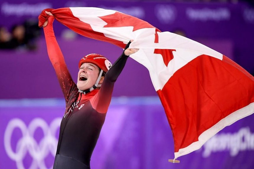 CP NewsAlert: Canada's Boutin wins bronze in women's 1,500 short-track