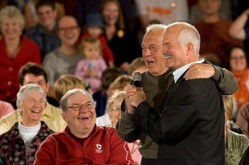 Former British Columbia premier Dave Barrett dies at age 87