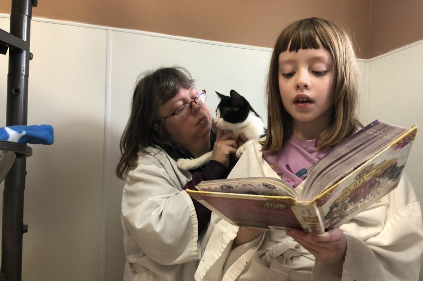 Regina Humane Society's Kiddy Readers program helps kids read