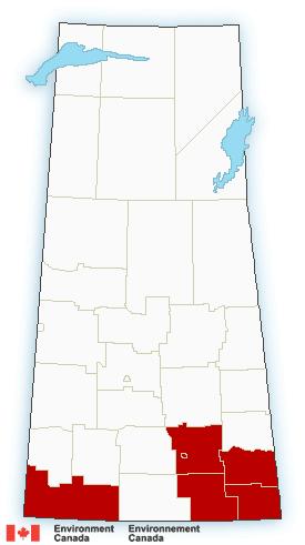 Regina, south Sask. under extreme cold warning