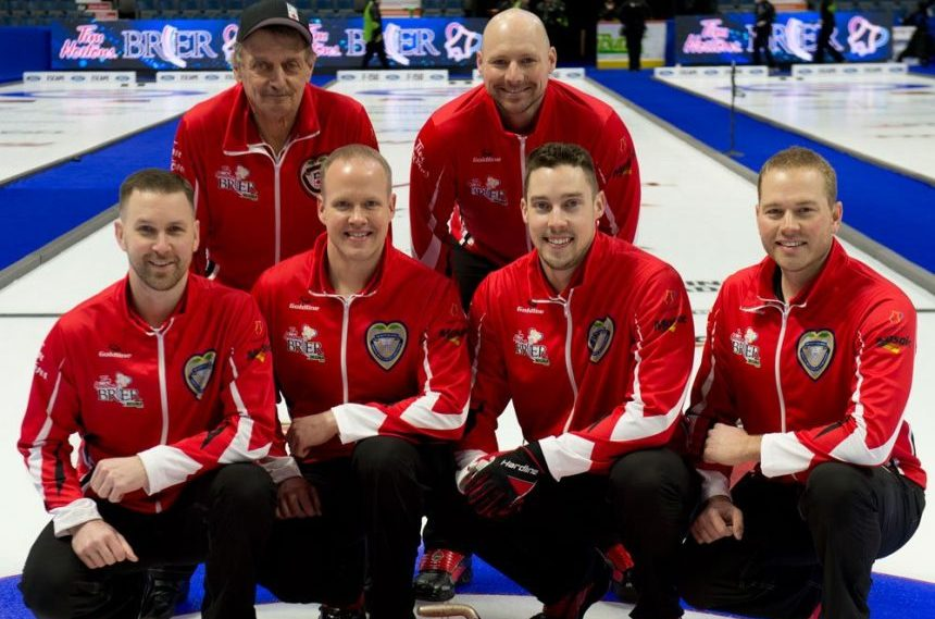 Gushue wins back-to-back Briers with 6-4 win over Alberta