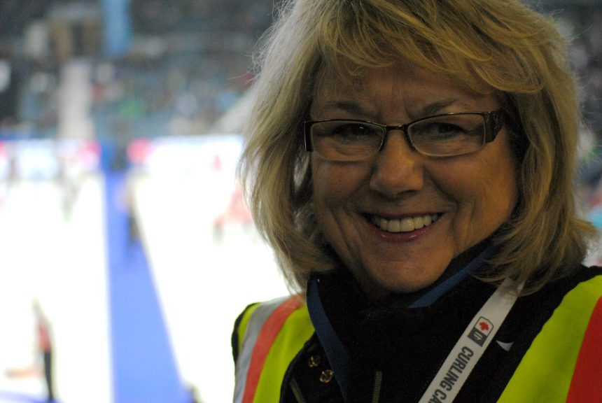 Volunteer travels from B.C. for the Brier in Regina