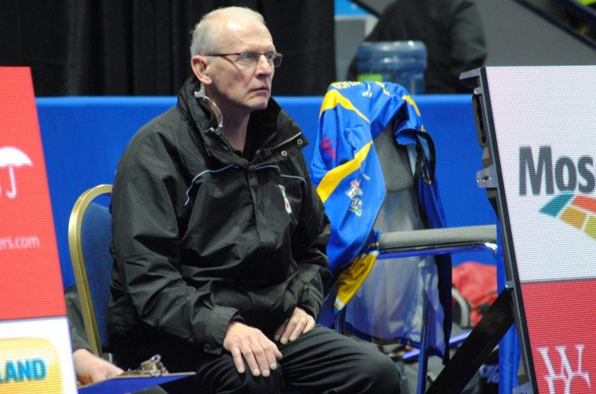 Dilke man umping at the Brier, fresh from the Olympics