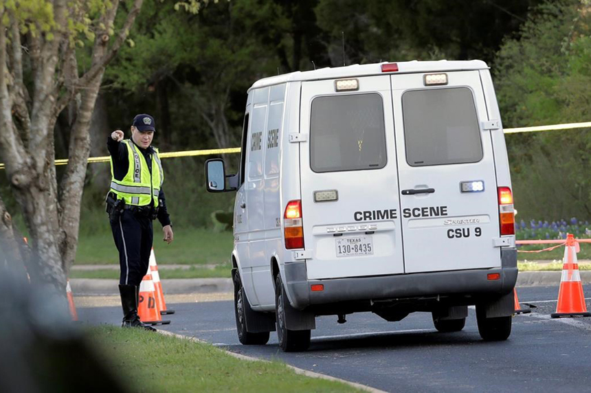 Package bomb explodes in Texas, this time at shipping centre