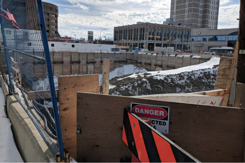 City of Regina step closer to filling Capital Pointe hole