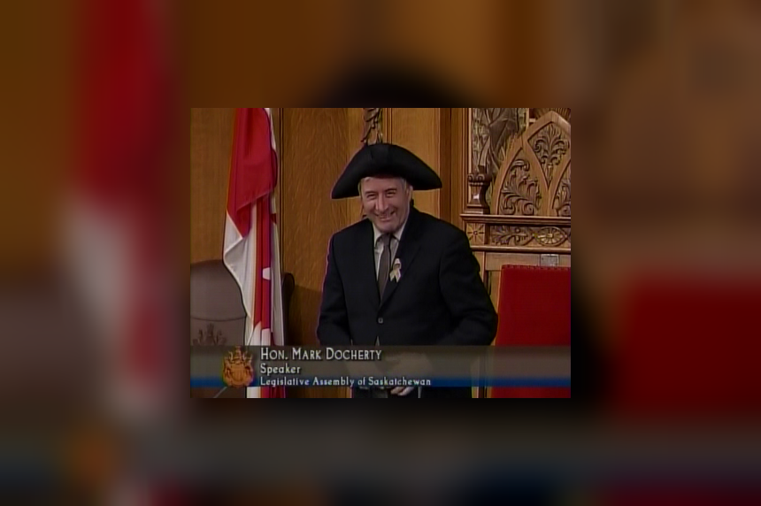 Regina MLA Mark Docherty elected speaker of Sask legislature