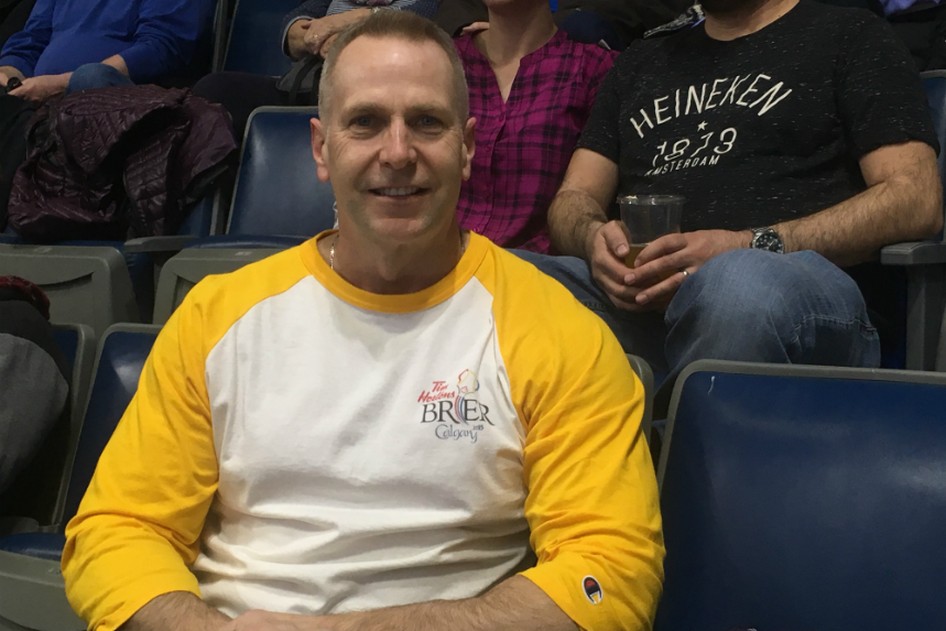 Proud Regina dad cheers on Manitoba son at the Brier