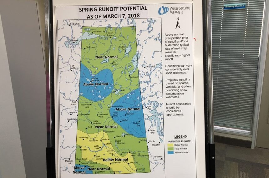 Dry areas remain, but most of Sask. to see normal runoff
