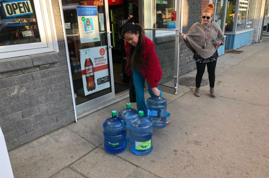 Water service restored in Weyburn after major water main break