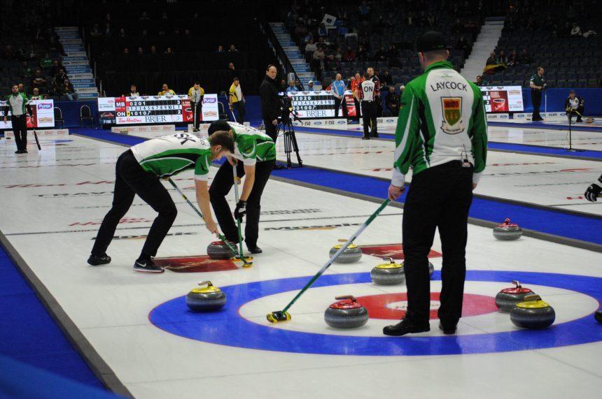 Saskatchewan down but not out after 8-4 loss