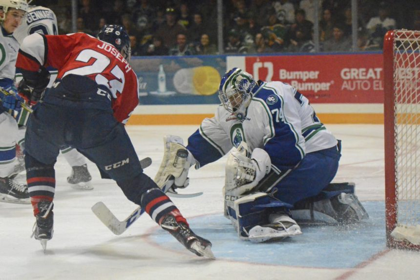 Hurricanes blow through Swift Current Broncos to tie Eastern Final