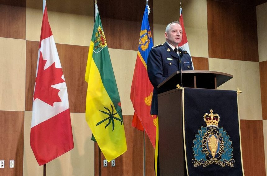 Top Saskatchewan Mountie takes on new role in Alberta