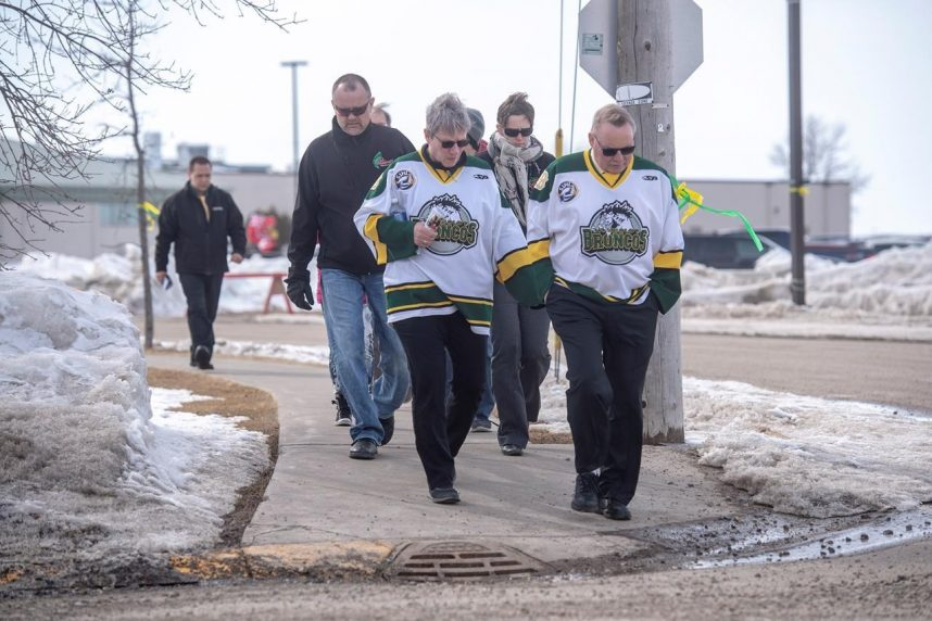 Broncos head coach remembered for actions on and off the ice