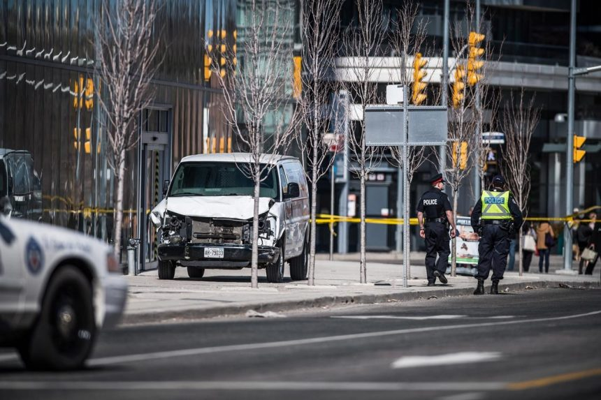 Arresting officer's actions 'one shining moment' in Toronto van attack