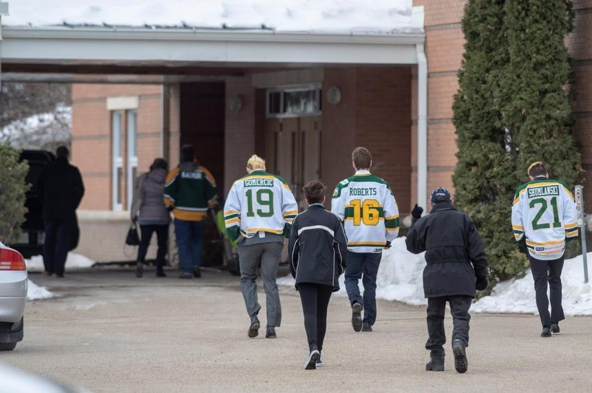 'Brody was a gift:' Friends say goodbye to Humboldt Broncos statistician