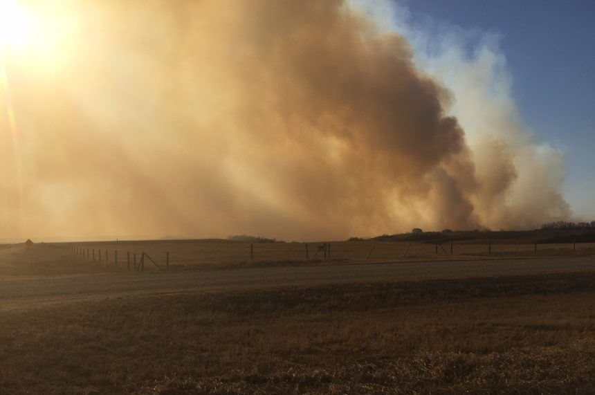 Fire risk high with dry conditions across province