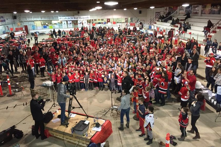 'We'll always be Hockeyville:' Lafleche cheers despite loss