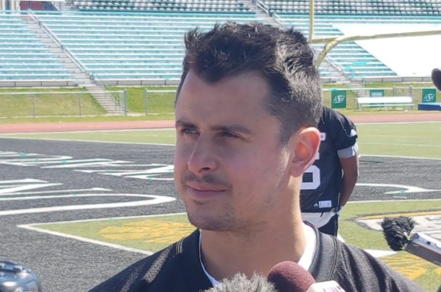 'It was awesome:' Collaros enjoys 1st day of training camp