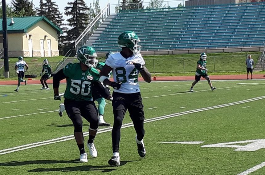 Riders roster will be tough to crack for new receivers