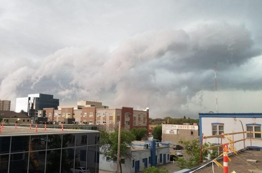 Severe thunderstorm warning for Regina, Moose Jaw