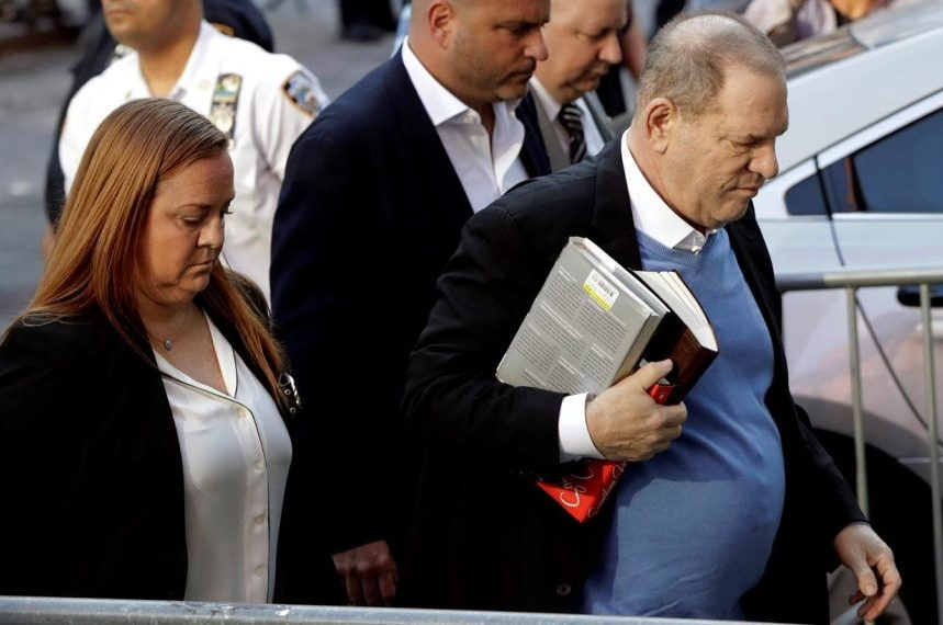 Harvey Weinstein arraigned on rape, criminal sex act charges