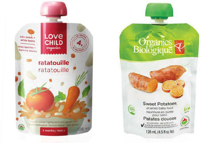 Canadian Food Inspection Agency recalls baby food due spoilage concerns