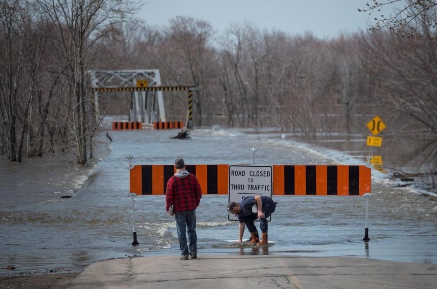 N.B. flooding hits record levels — with more rain in the forecast