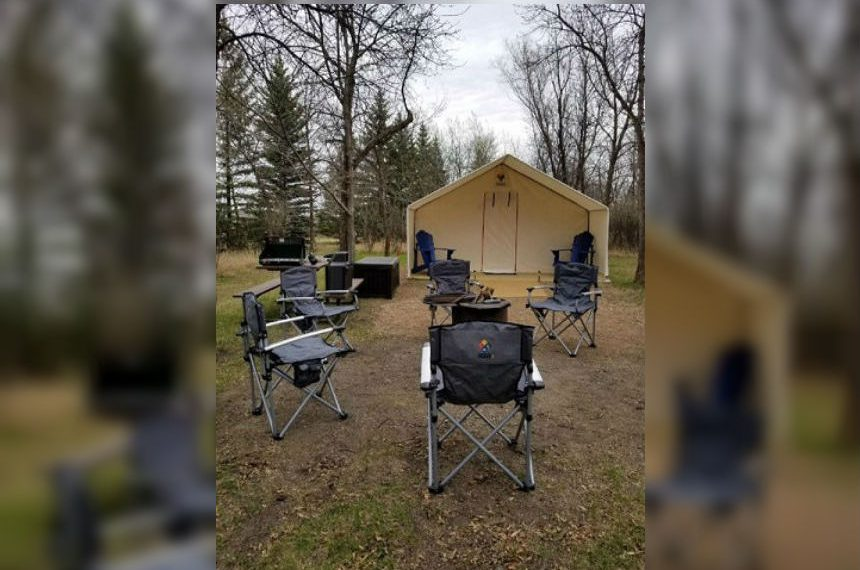 Camp-Easy sites available at 3 provincial parks