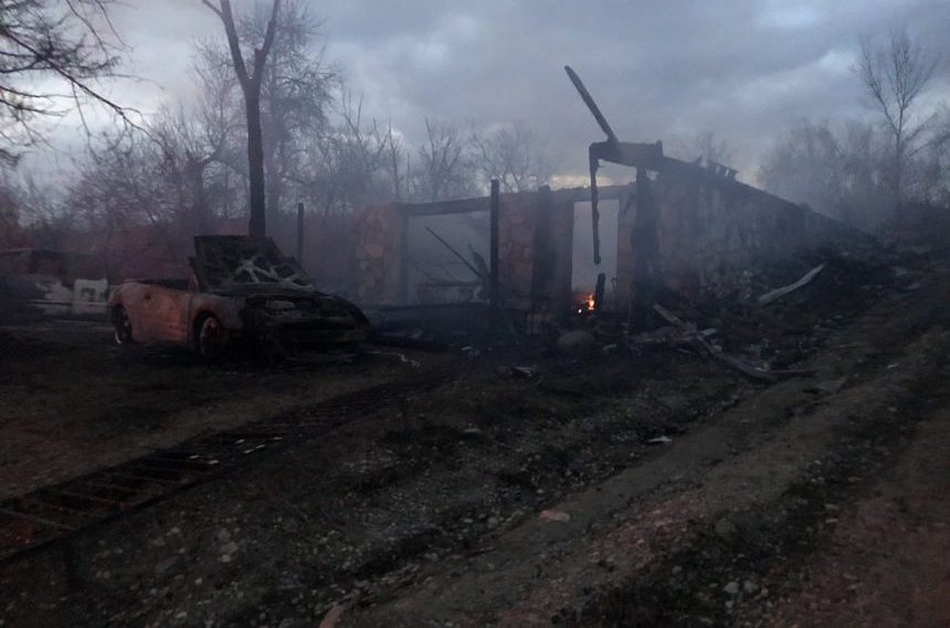 'Save-anything-you-can mode': homes lost in Kannata Valley fire