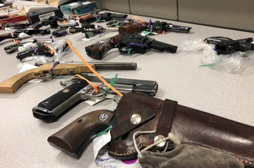 Hundreds of firearms collected as gun amnesty wraps up