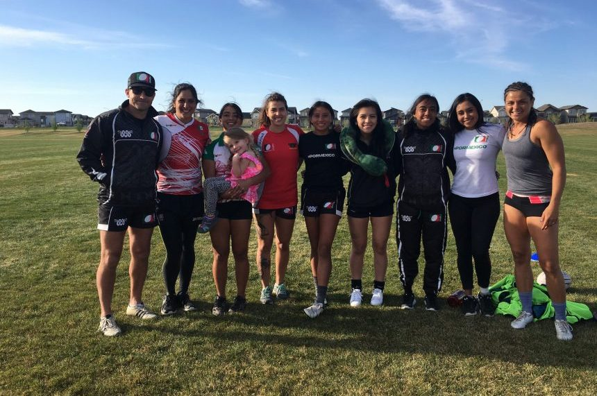 Mexico's womens rugby sevens team trains in Sask. for worlds