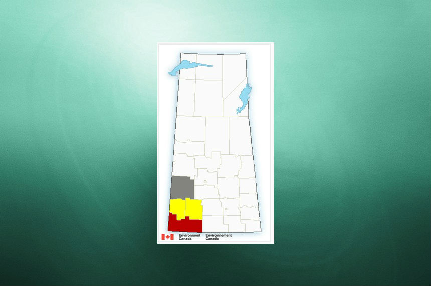 Thunderstorm warnings, watches for southwest Sask. end