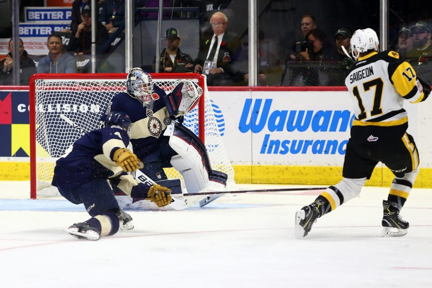 Paddock shines in Pats 3-2 win in Memorial Cup opener
