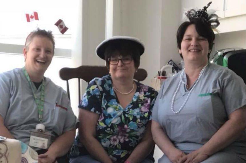 Royal watchers host hospital party ahead of royal wedding