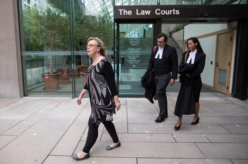Green Leader Elizabeth May gets $1,500 fine for contempt in pipeline arrest