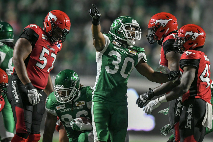 Rider rookies marvel at atmosphere of 1st CFL game