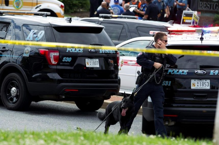 4 journalists, sales assistant killed at Maryland newspaper