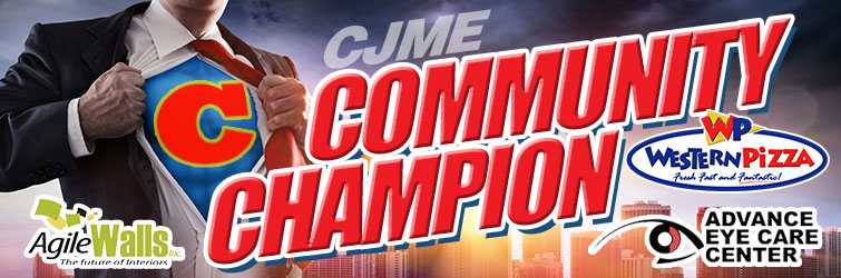 Feature: http://www.cjme.com/community-champion/