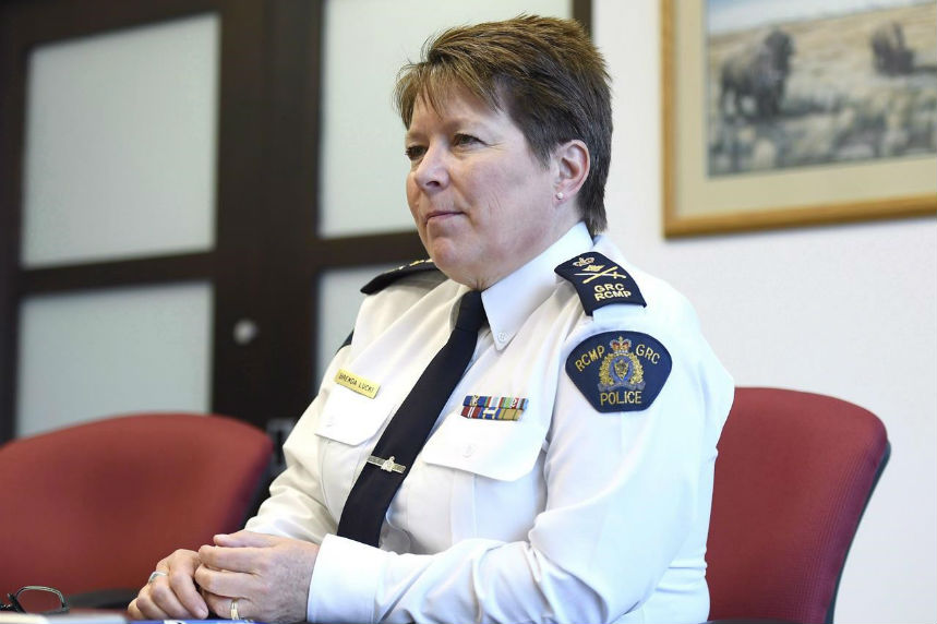 RCMP commissioner doesn't think force will reach full gender equity
