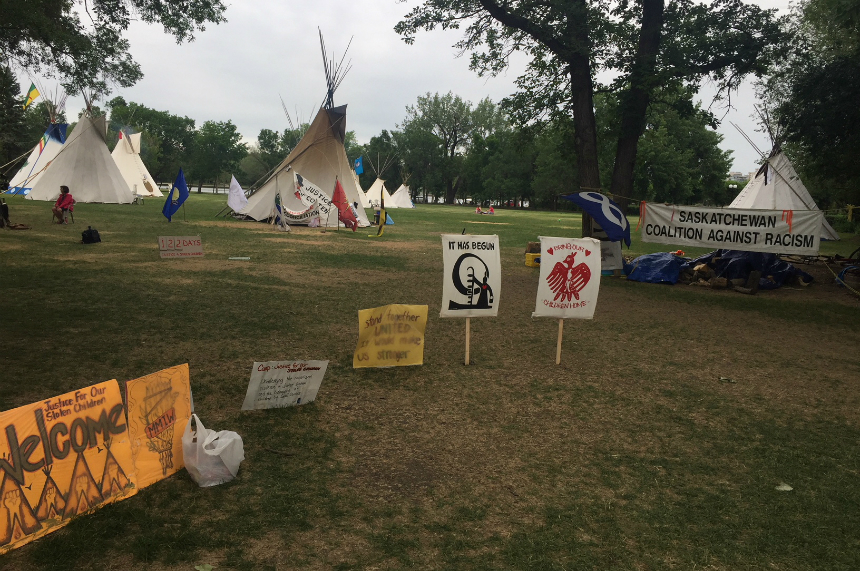 Protest camp to hold Canada Day powwow, expects no issues