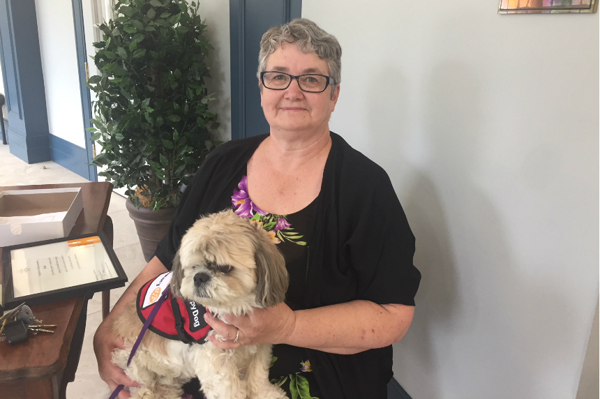 Therapy dogs honoured after work during Humboldt tragedy